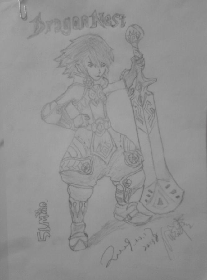之谷战士手绘图