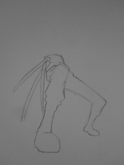 哥自动铅笔手绘海贼王