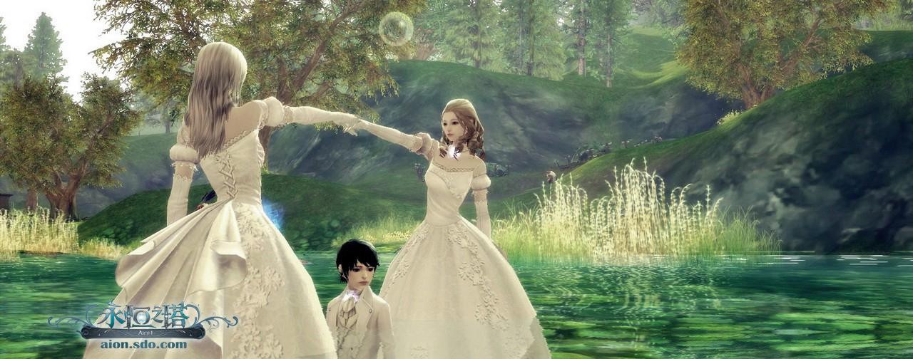 《永恒之塔》美女婚纱秀激赏